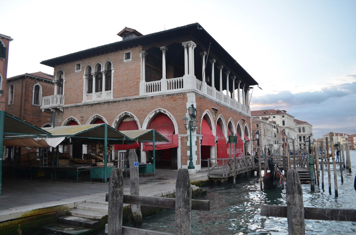 Mercato di Rialto, Venezia, Benátky
