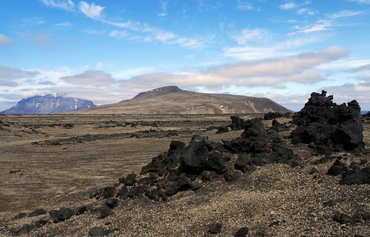 Island – láva